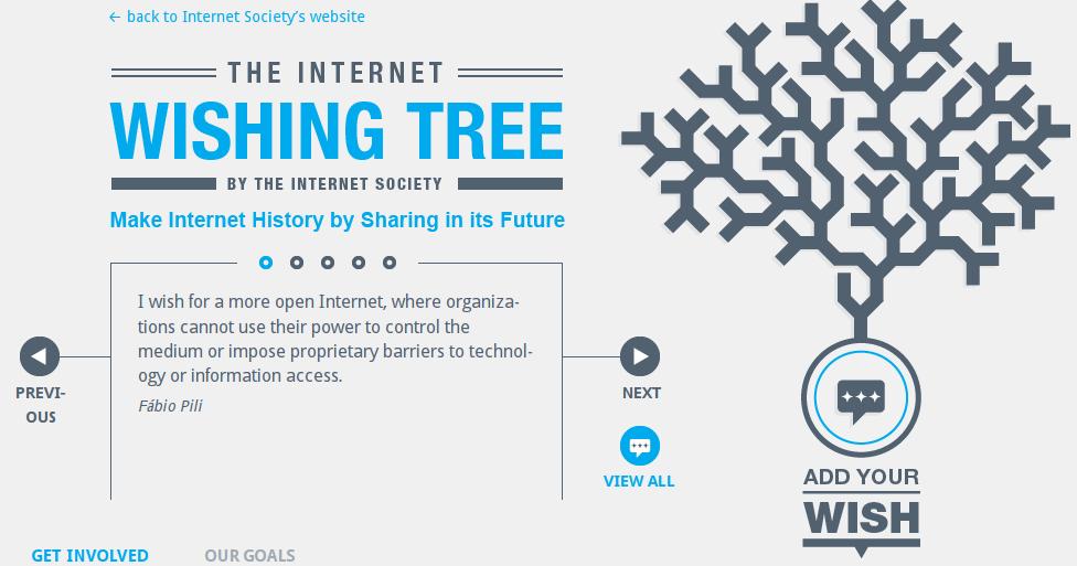 Wishingtree – podelite vaše želje za budućnost interneta